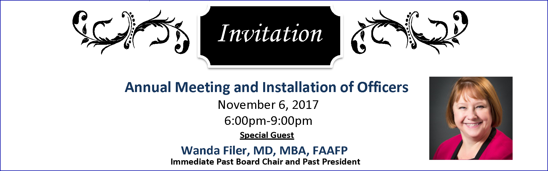 Annual Meeting and Installation of Officers