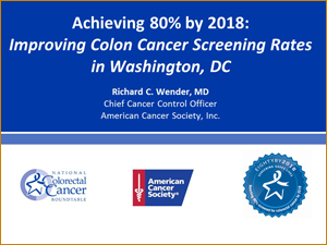 Improving Colon Cancer Screening Rates in Washington, DC