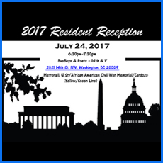 July Resident Reception
