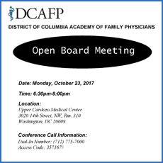 October Board Meeting